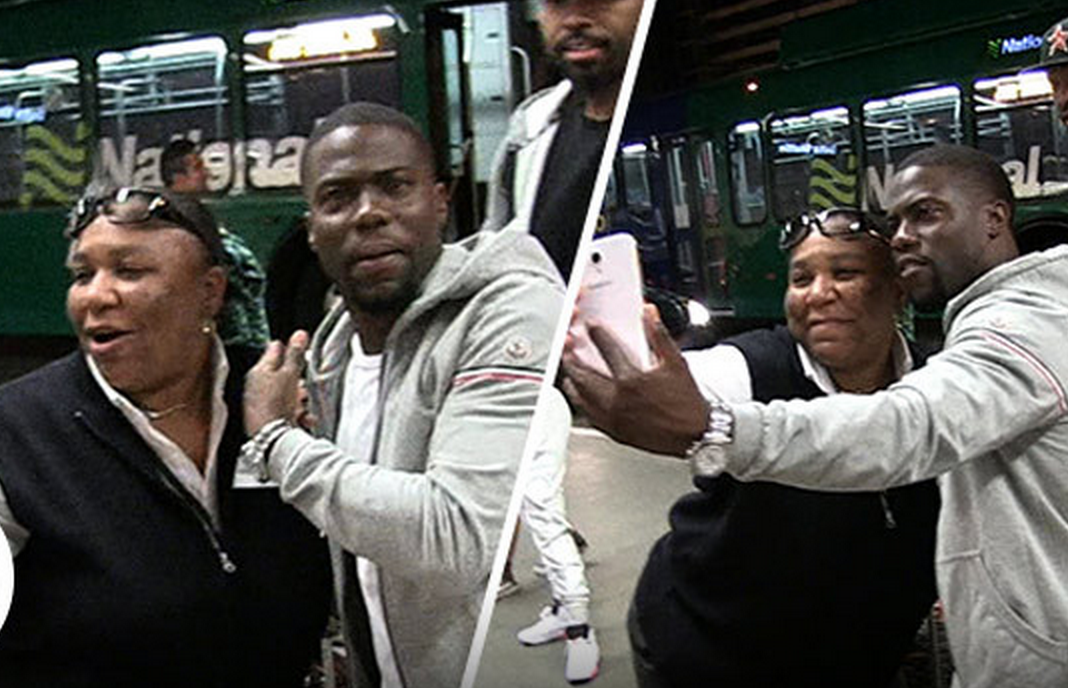 Kevin Hart Begs National Car Rental To Not Fire Driver Who Took Photo With Him