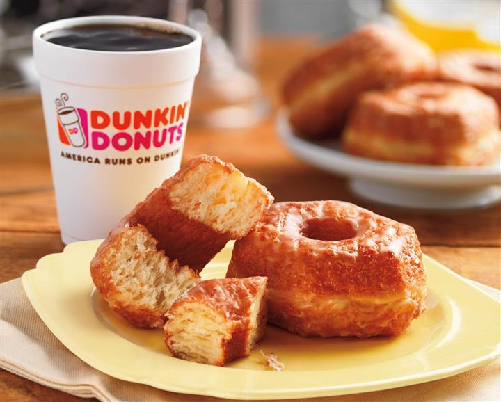 Don't Call It A Cronut: Dunkin' Donuts To Start Selling A Cross Between A Croissant & A Donut