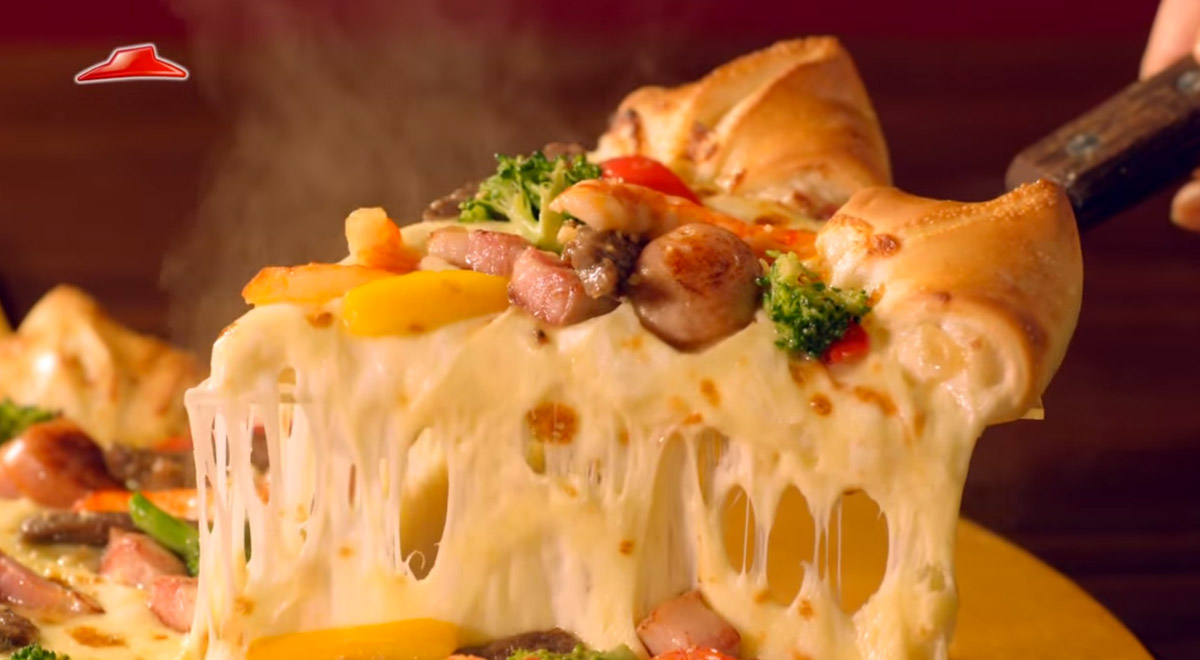 Pizza Hut Creates Crusts Stuffed With Jalapeños And With Dessert
