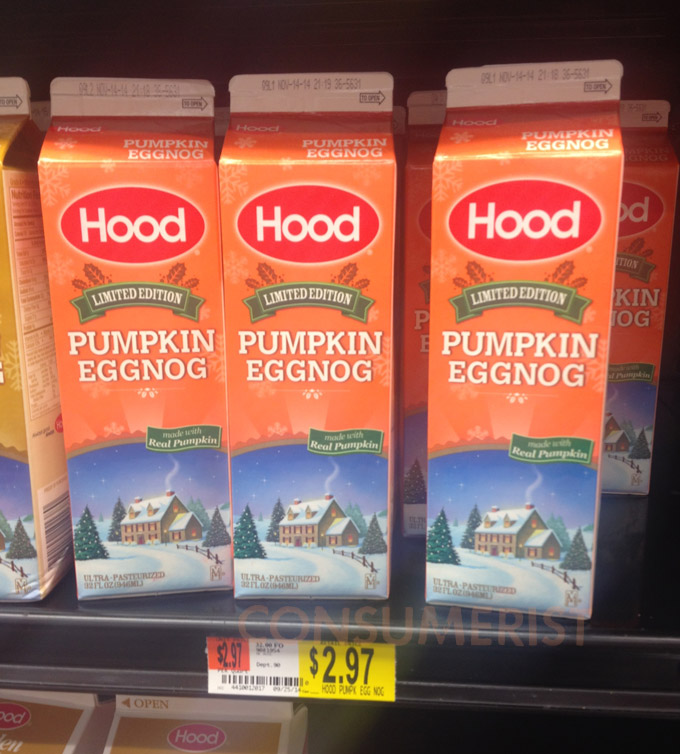 Pumpkin Spice Egg Nog Exists To Quench Public's Infinite Pumpkin Spice Thirst