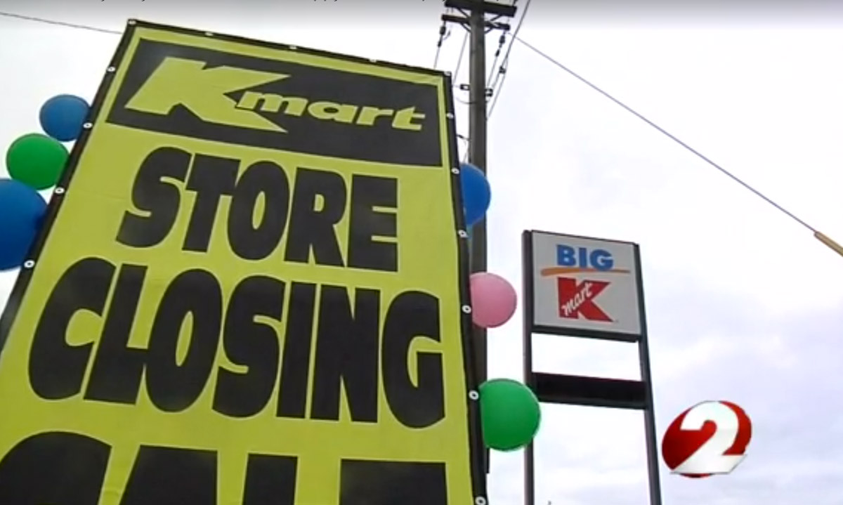 Kmart Insists Customers Should Have No Layaway Problems At Closing Stores