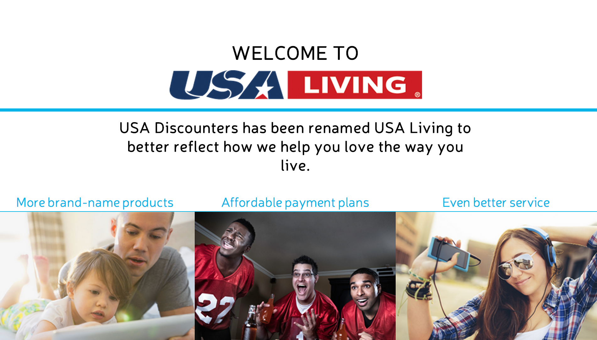 USA Discounters is now USA Living, but it's still charging too much for its products and still suing soldiers with out-of-state addresses.
