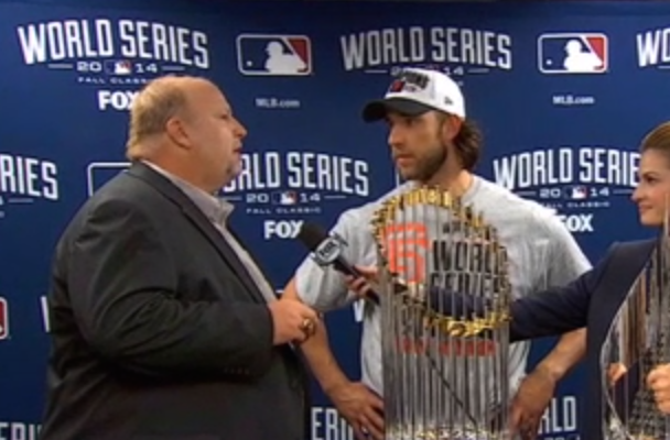 """Technology & Stuff"" Chevy Rep Gives Recently Recalled Truck To World Series MVP"