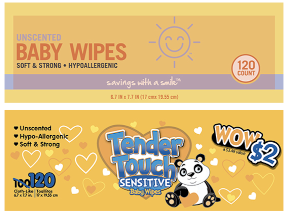 Nutek Disposables recalled 10 brands of baby wipes over the weekend for possible bacteria contamination.