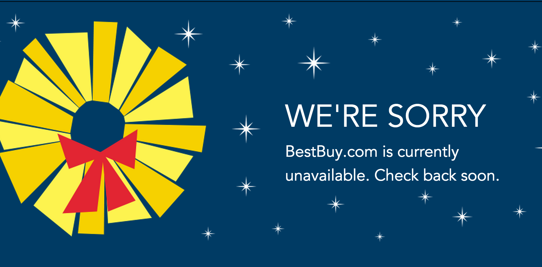 Best Buy Website Goes Down On One Day Of Year It Shouldn't