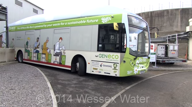 There's A Bus In England That Runs On Human Feces – And Food Waste