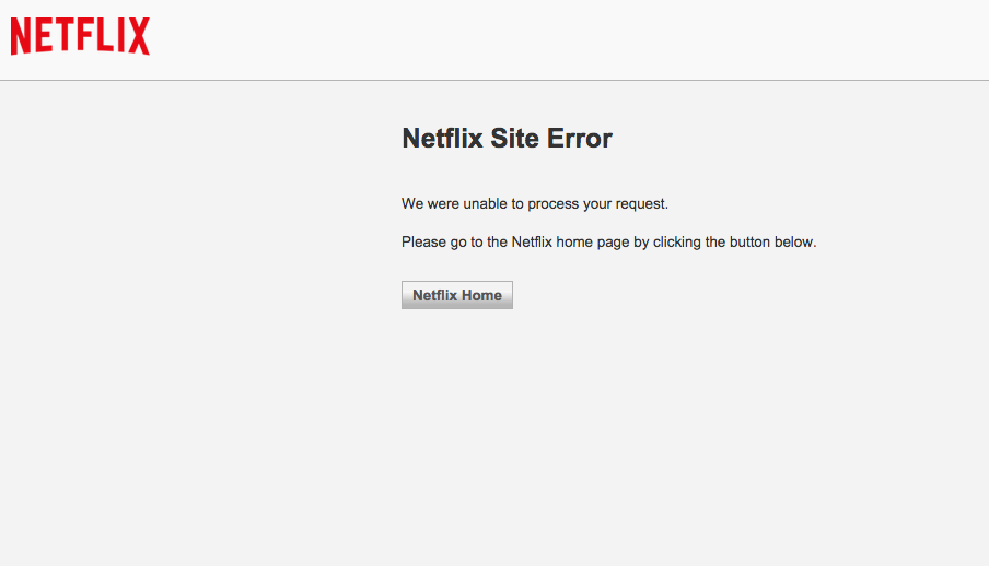 Netflix Goes Down, The Internet Proceeds To Freak The Heck Out