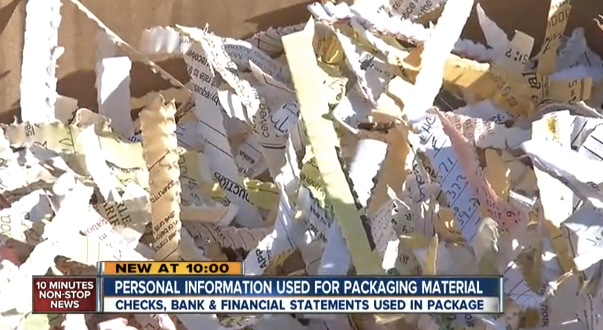 A Colorado woman's Home Depot order came packaged with highly sensitive financial documents belonging to other people.