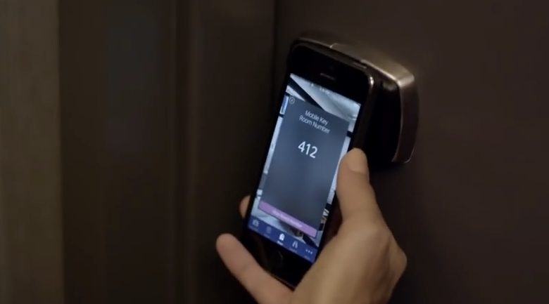 Starwood Hotels now allows preferred customers to use keyless room entry at 10 hotels around the world.