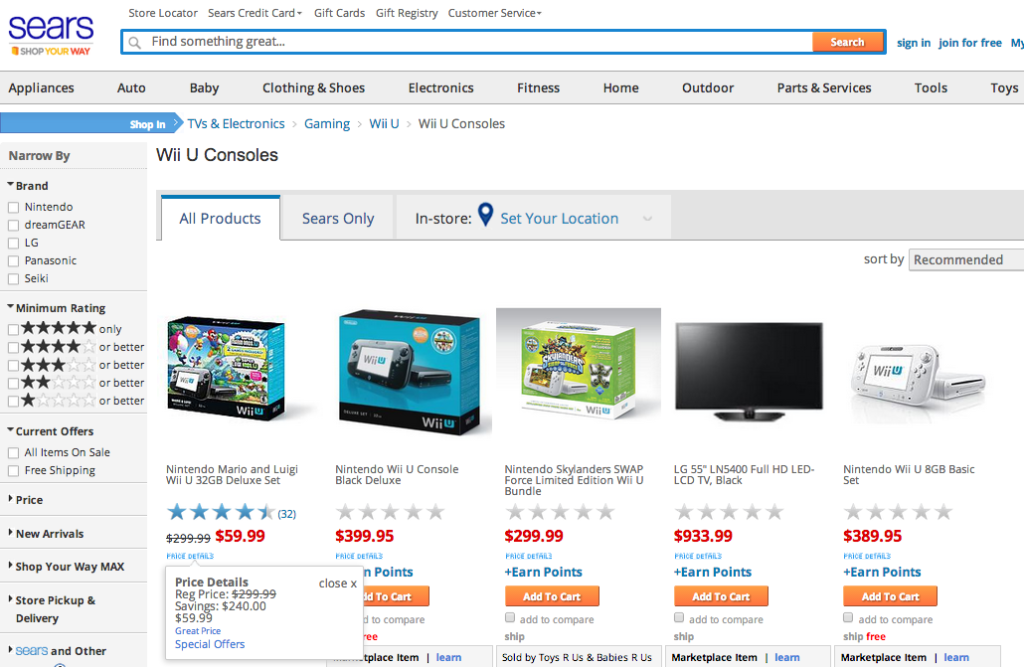 Terrible People Create Fake Amazon Pages, Convince Walmart To Price