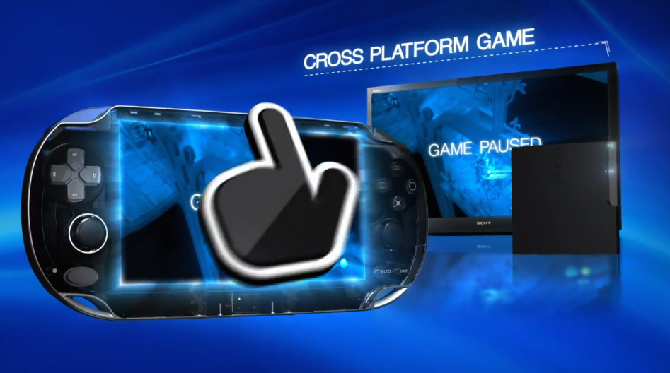 In early ads for the PS Vita (see below for actual video), Sony claimed that you could easily pause your PlayStation 3 game and then pick up where you left off using your Vita. In truth, most PS3 games did not support this cross play and the pause-and-play functionality rarely worked as advertised.