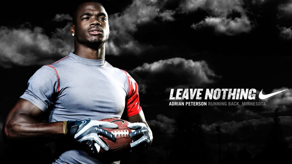 Nike Officially Dumps Adrian Peterson After Plea Agreement