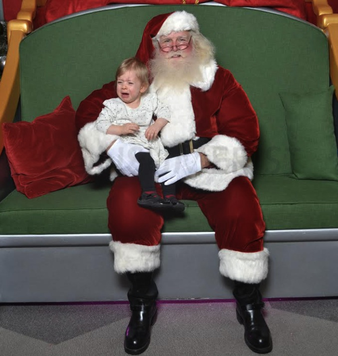 one more time our very own miranda cox daughter of consumerists kate - Santa Claus With Kids