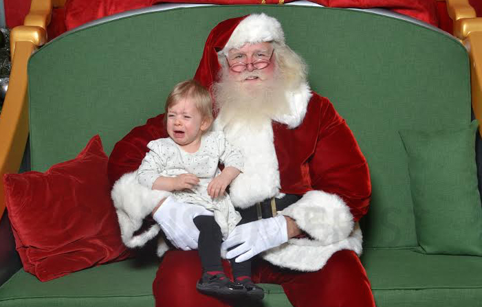 Scary Santa Strikes Again: Send Us Photos Of Your Kids Freaking Out With Costumed Mall Characters