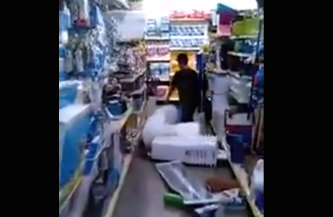 Watch Young Kid Go On 3-Minute Dollar Store-Destroying Rampage