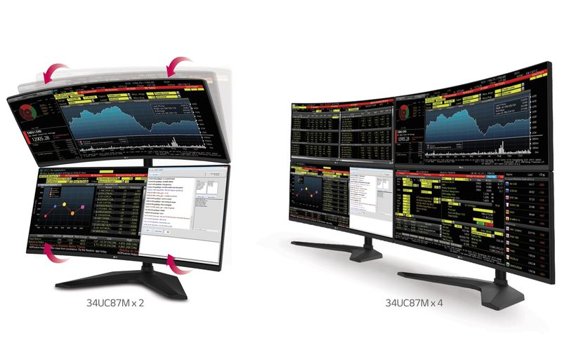 LG, Samsung Want Curved, Ultra-Wide Monitors To Be The It Thing For 2015