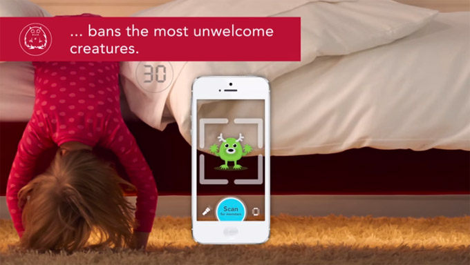 Smart Sleep Number Bed For Kids Banishes Monsters With App