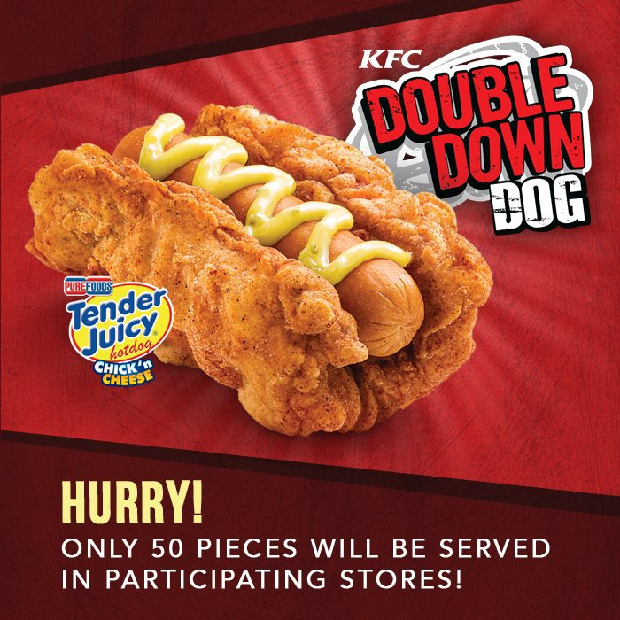 The Reality Of The Kfc Double Down Hot Dog Is Depressing Consumerist