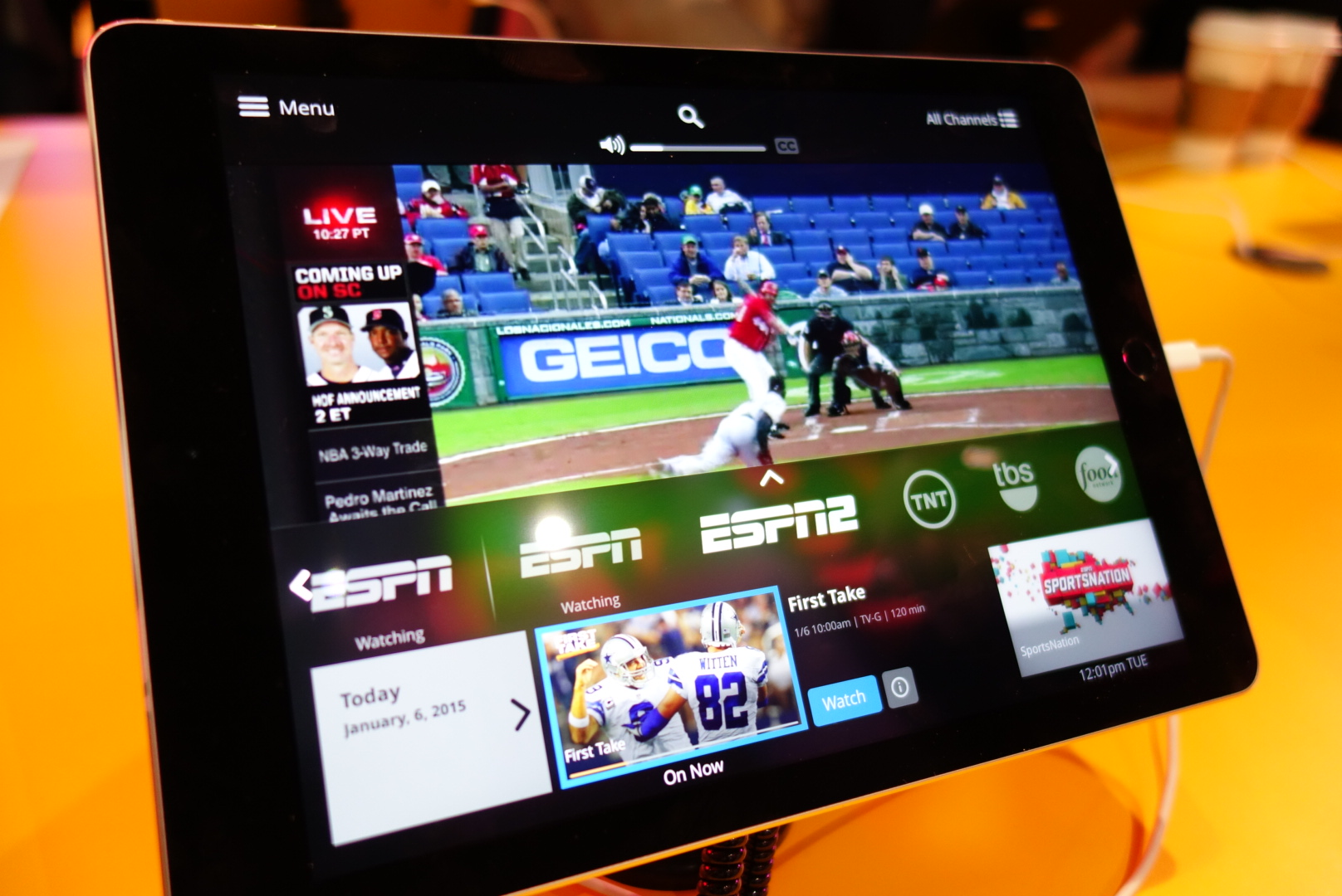 Dish's Sling TV Streaming Service Wins Best Of CES Award