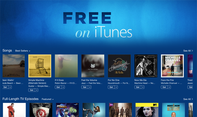 Good News: iTunes Isn't Ditching Free Music After All