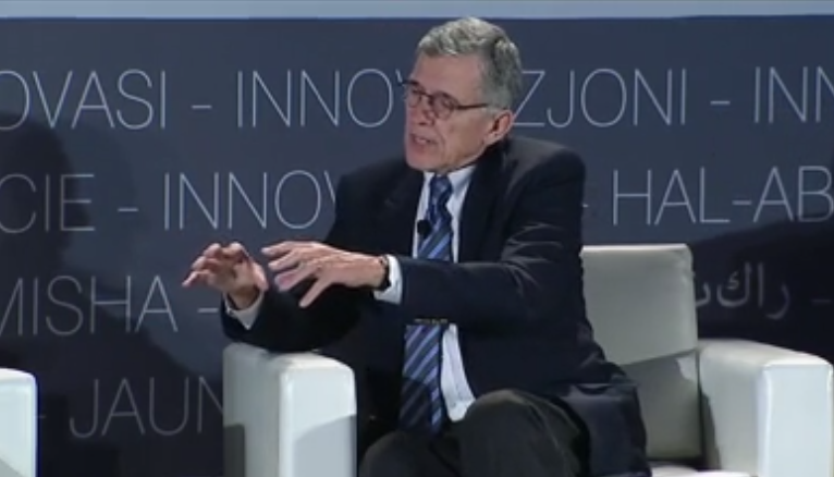 FCC Chairman Tom Wheeler spoke about a possible net neutrality rule during a CES conference.