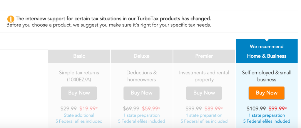 Turbotax Customers Can Upgrade To Premier Or Home And