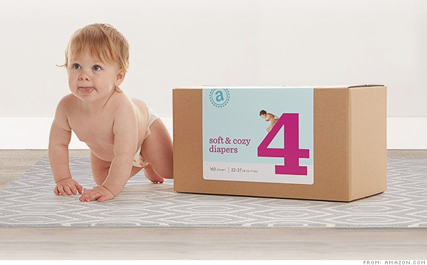 "Amazon Yanks Its New Upscale Diaper Brand To Make ""Design Improvements"""