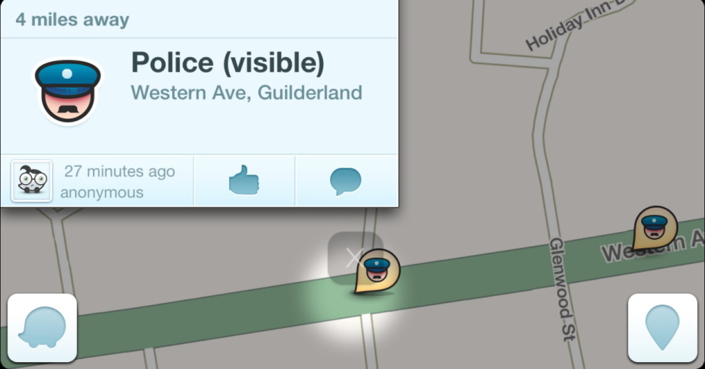Police Ask Waze To Remove Speed Trap Alerts To Protect Cops