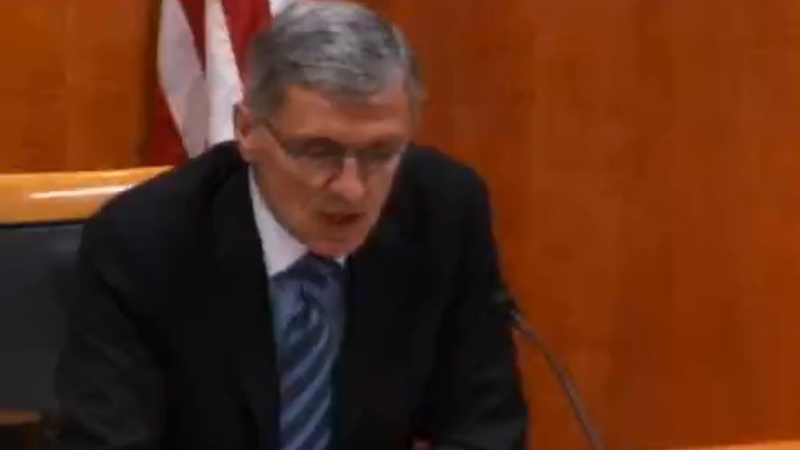 FCC Chairman Tom Wheeler, speaking at the FCC open meeting on January 29, 2015.