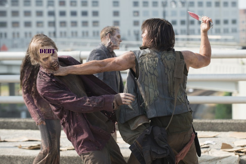 The National Consumer Law Center is asking the Consumer Financial Protection Bureau to go full Daryl Dixon on the collection of zombie debt.