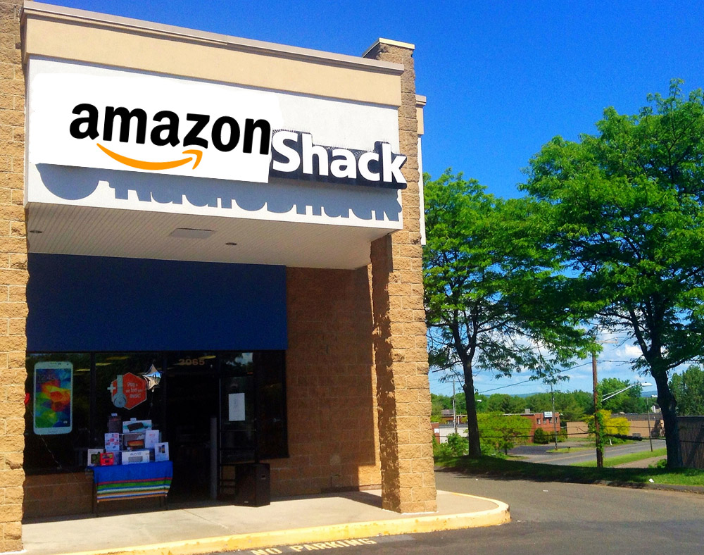 Report: Amazon Wants To Buy Some RadioShack Stores, Too
