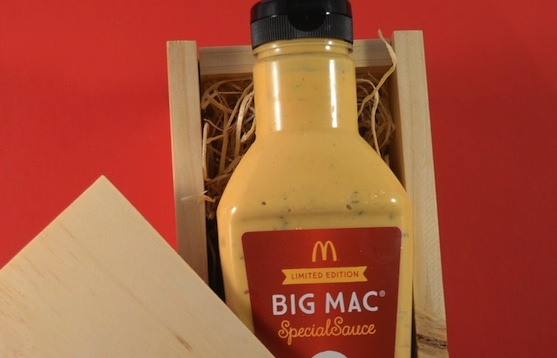 McDonald's in Australia is auctioning a 500-ml bottle of Big Mac sauce.