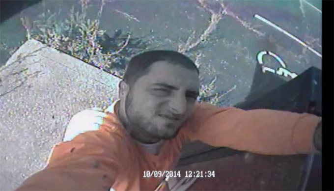 Police Seek Man Caught On Security Camera Stealing Security Camera