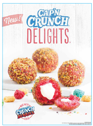 Taco Bell Testing Cap'n Crunch-Coated, Cream-Filed Donut Calorie Bombs For Breakfast