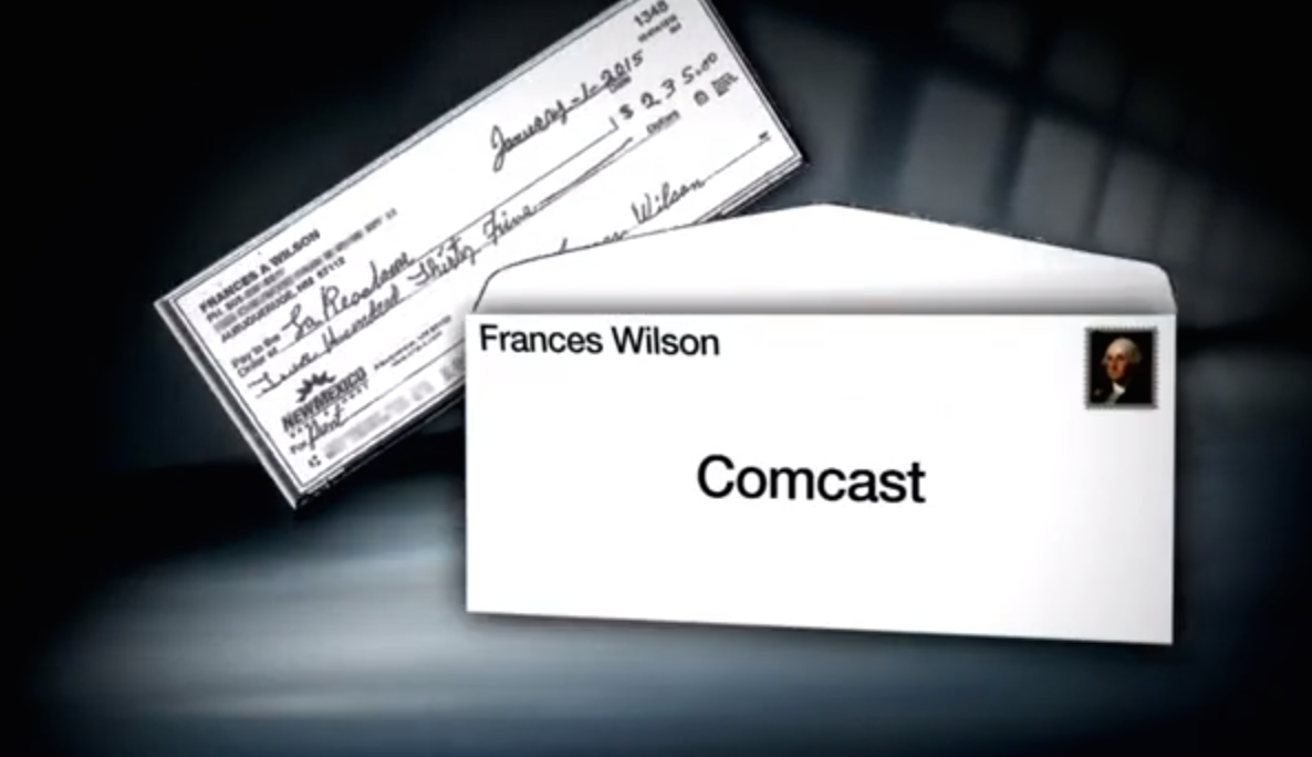 Comcast Accidentally Receives Customer's Rent Check, Cashes