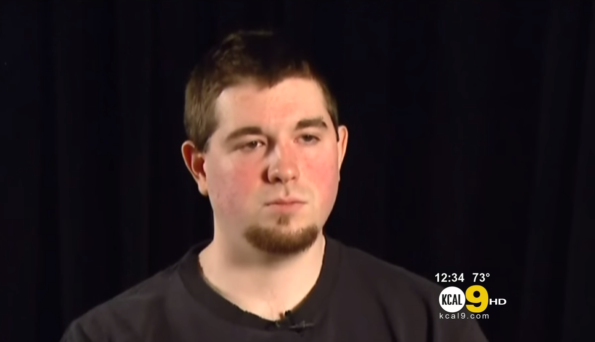 For the record, this is what Craig Brittain looked like in 2013 when he sat down to speak with KCAL-TV about his site.