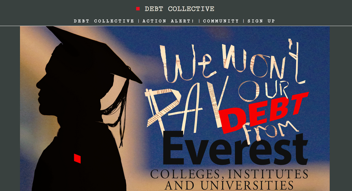 A group of 15 Corinthian College students are refusing to repay their federal student loans.