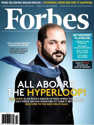 If you can take your eyes away from the dreamy visage of Shervin Pishevar for a second, you'll notice that little black box on the right hand side touting content paid for by Fidelity without disclosing that it's actually an ad.