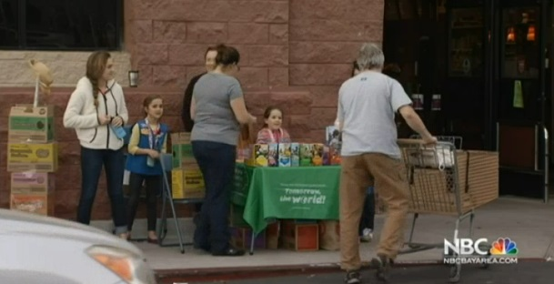 Man Arrested For Stealing $300 Cash From Girl Scout Cookie Booth