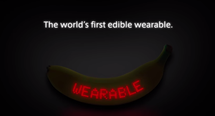 Dole will lunch the Wearable Banana during the Tokyo Marathon this weekend.