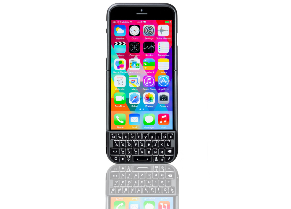 BlackBerry Suing Makers Of Slip-On iPhone Keyboard Again, Claiming New Version Is Infringement