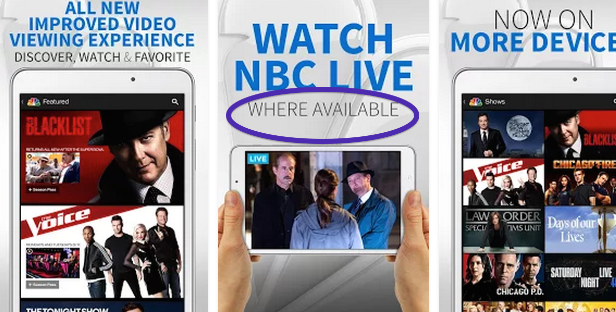 Unless you live in a market with an NBC owned-and-operated local affiliate, you won't be able to watch the live stream.