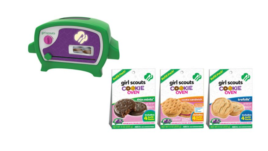 girl scouts cookie oven is a real thing you can use to