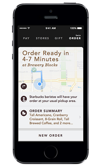 Starbucks Mobile Ordering Expands To Washington And Idaho