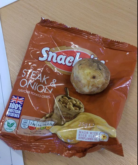 Man Buys Bag Of Potato Chips, Finds Whole Potato Inside