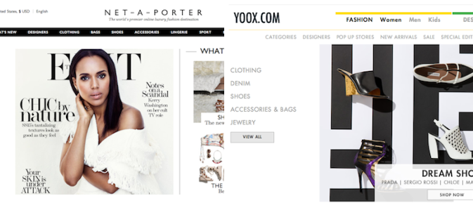 High-End Online Retailers Net-A-Porter, Yoox Officially Tie The Knot