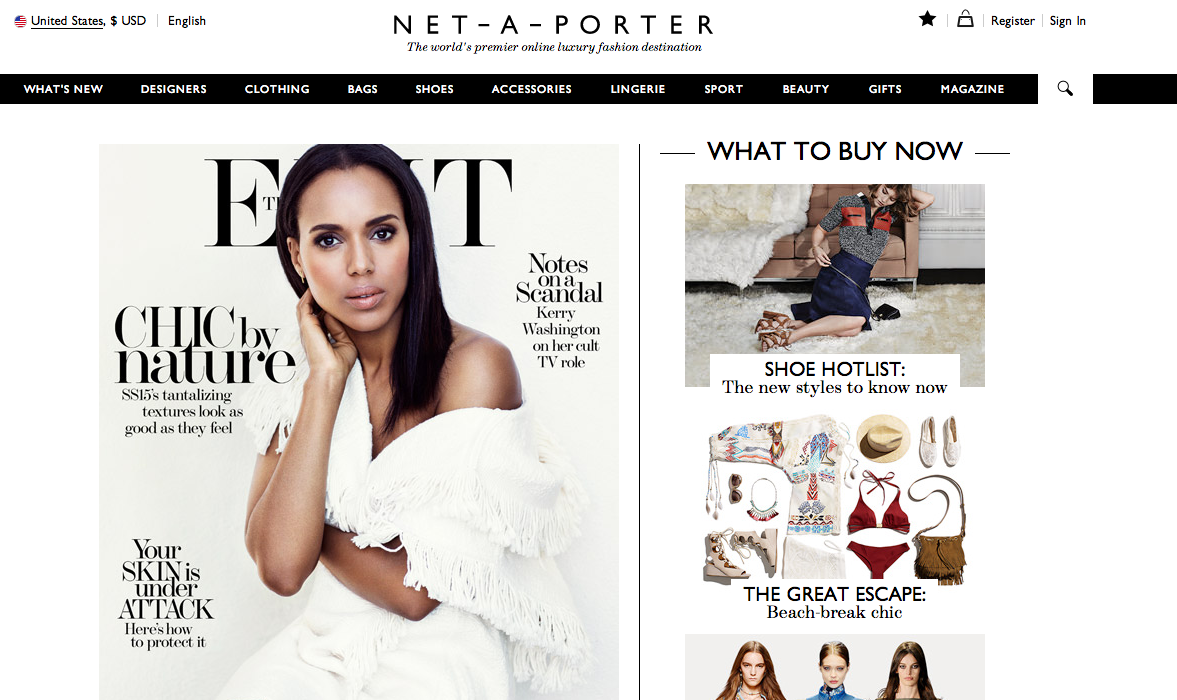 Net-A-Porter In Deal Talks With Online Retailer Yoox