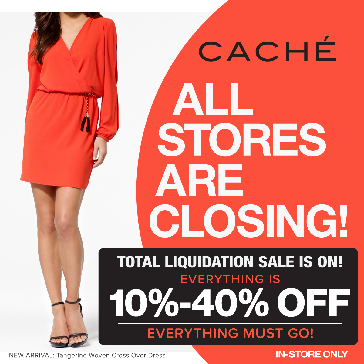 Caché To Liquidate, Close All Remaining Stores