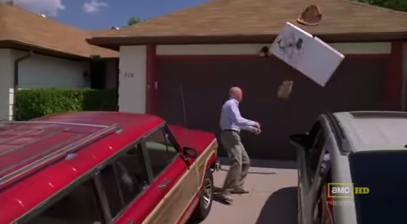 "'Breaking Bad' Creator: If You're Throwing Pizza On Walter White's Albuquerque House, You're A ""Jagoff"""