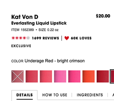 Why Do Makeup Brands Keep Naming Red Lipsticks 'Underage'?